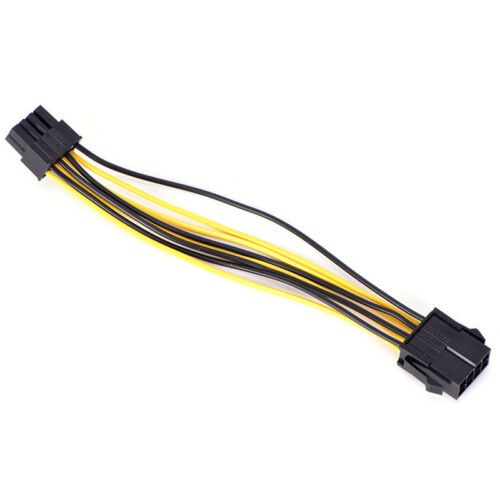PCI-E 8PIN Male To 8PIN Female PCI Express Power CPU Extension Cable Wiring KitH