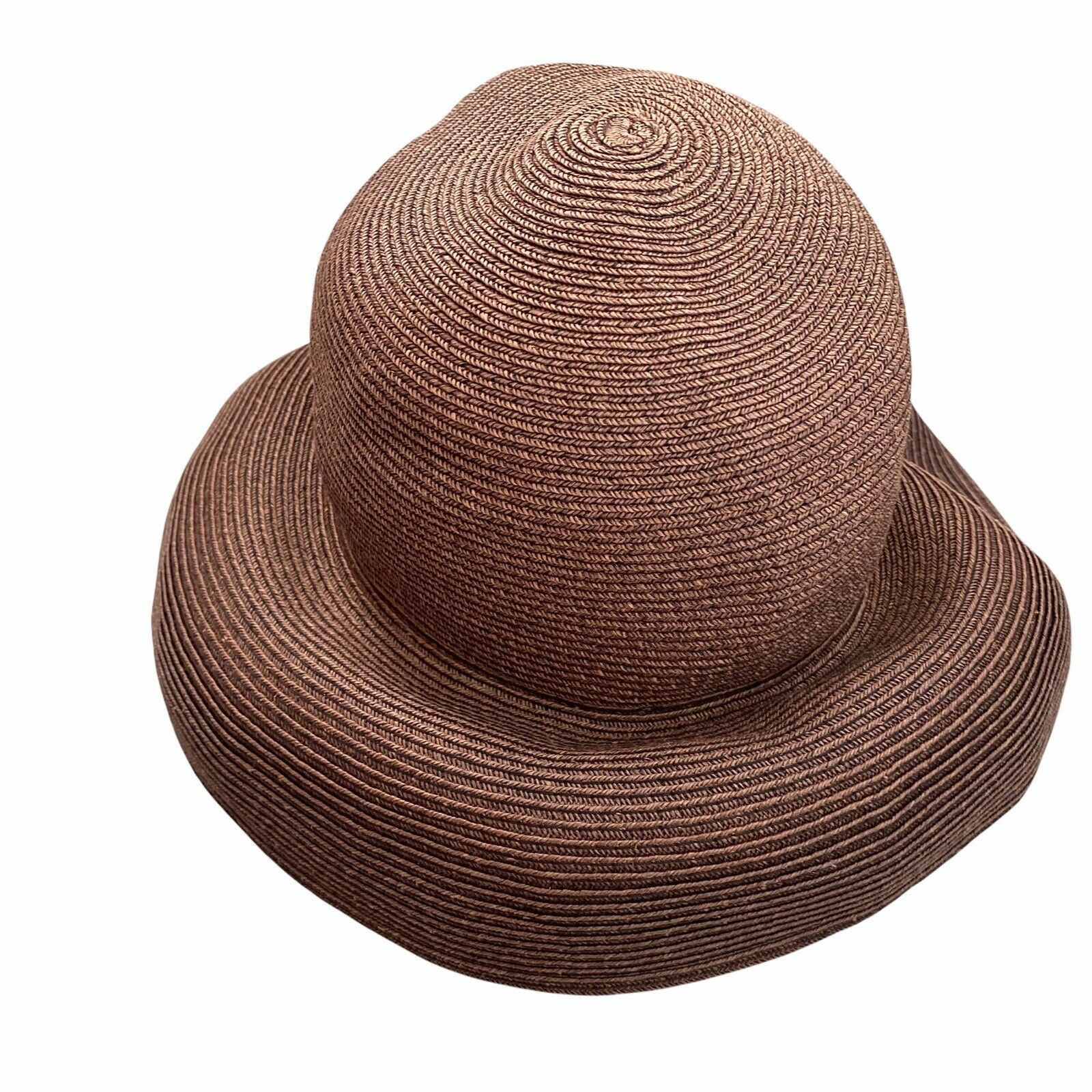 Eric Javits Squishee Packable Straw Hat Wide Brim… - image 3