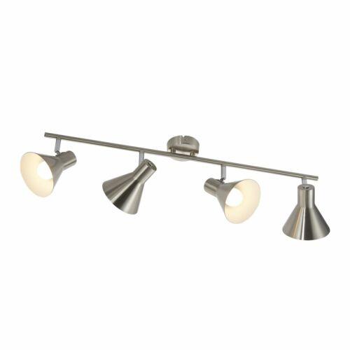 LED Spotleuchte 4er Spot Nino Cork 81120401 Deckenlampe Nickel matt 4x 3 Watt