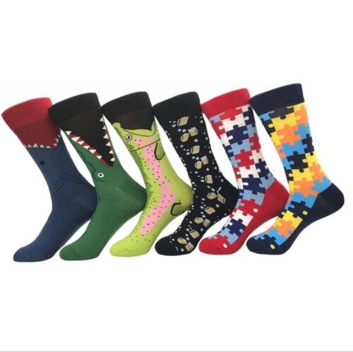 NEW Cartoon animals Geometric patterns socks Casual Cotton socks Unisex