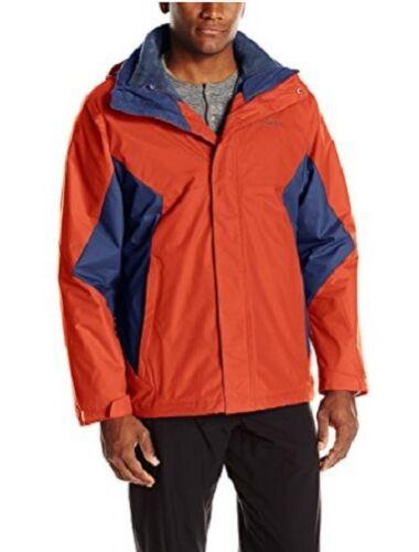 Columbia Mens Eager Air 3-in-1 Hooded Jacket Rain Coat Winter Ski Fall MSRP $220
