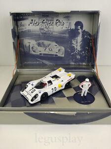 Slot-car-SCX-Scalextric-Fly-W02-Porche-917-K-N-70-Figur-Alex-Soler-Roig