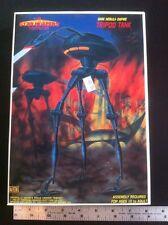 TCI 1985 Star Blazers MODEL, TRIPOD TANK,YAMATO MINT NEW. Like war Of The Worlds