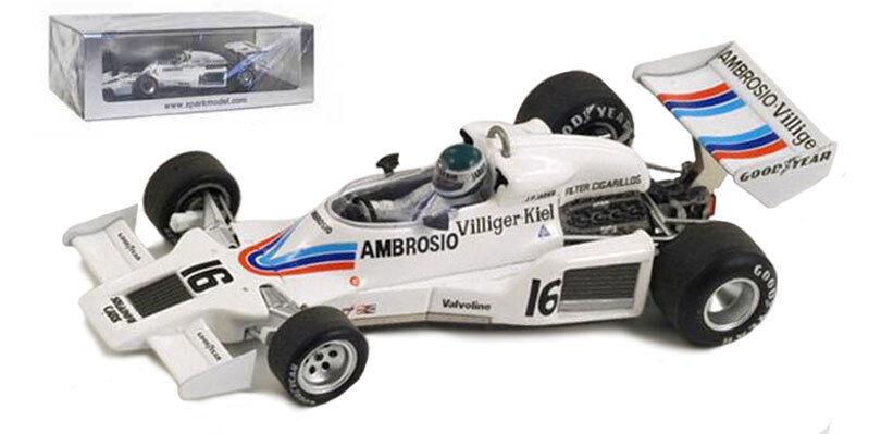 Spark s1757 shadow dn8   16 US GP 1977-Jean-Pierre jarier, échelle 1 43,