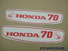Honda CUB 70 C70 Gas Tank Sticker Emblem Decal aluminium // JAPAN