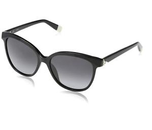 Black Su4962s Shiny da Oversized Furla Eyewear donna 55mm Sunglasses UBw8nxqt