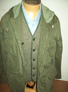 Jack-Spade-3-in-1-Bolton-Anorak-amp-Wool-Blend-Down-Vest-NWT-XL-895-Olive-Green