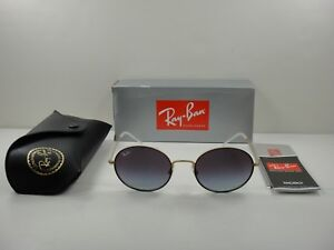 d2daf04b5d5fd RAY-BAN BEAT SUNGLASSES RB3594 9114U0 BLACK GOLD GREY GRADIENT ...