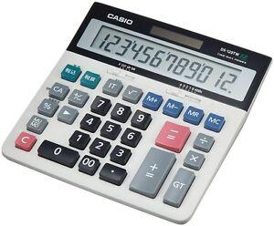 Neuf Casio Système Bureau Calculatrice Type Ds-120tw Avec Suivi Livraison Gratuite Japon-afficher Le Titre D'origine