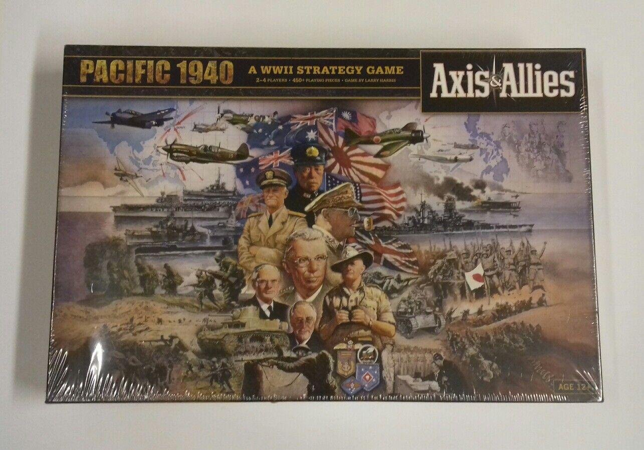 AXIS & ALLIES  PACIFIC 1940 JUEGO DE MESA AVALON HILL EN INGLES , RETRACTILADO