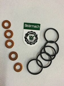 BEARMACH-TD5-FUEL-INJECTOR-SEALING-RINGS-amp-WASHERS-ERR6417-amp-ERR7004