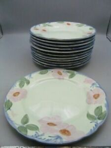 Rare-Franciscan-Dinnerware-Twilight-Rose-Dinner-Plate-10-5-8-034
