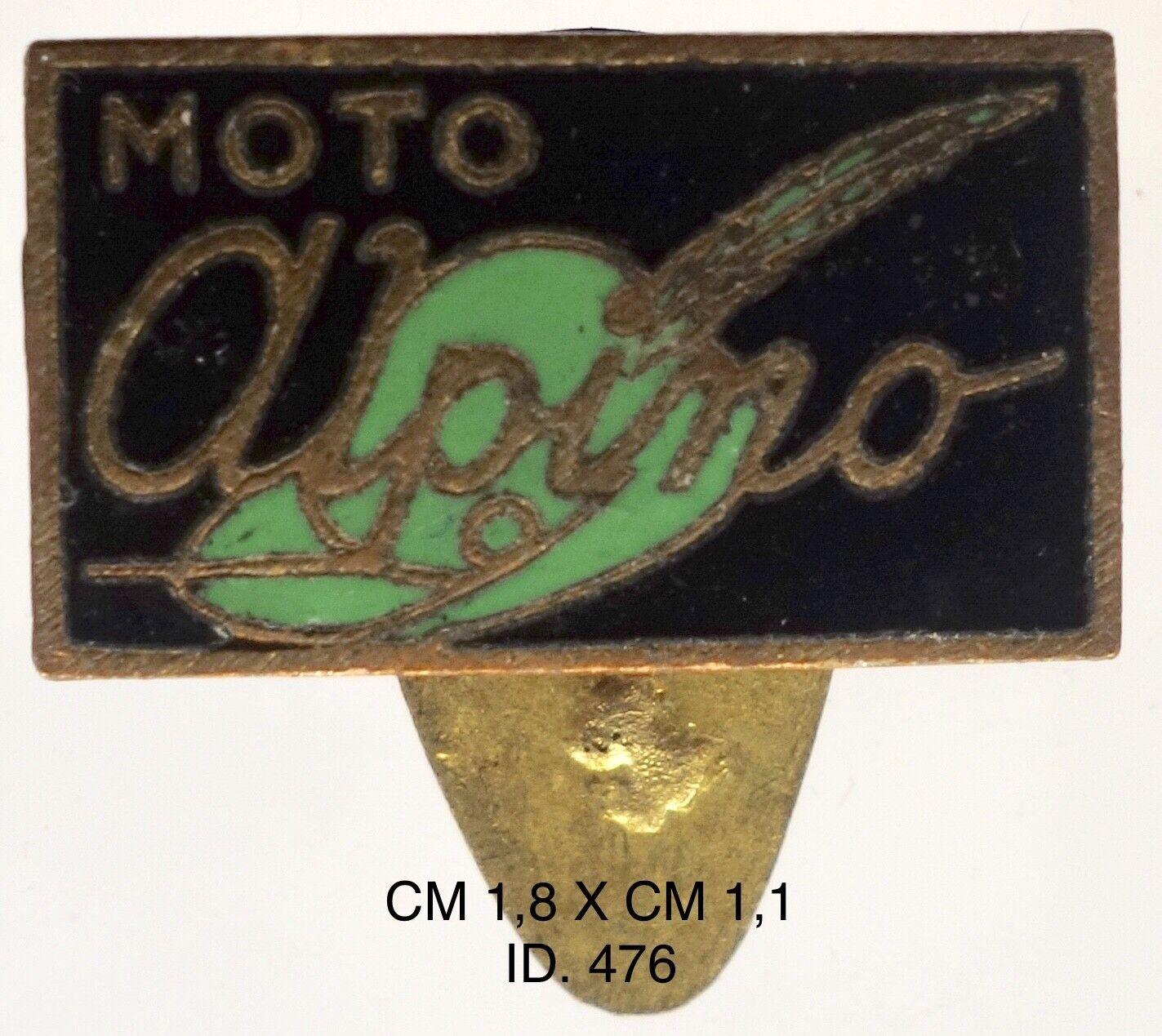 """Moto Alpino Alpino Alpino Stradella distintivo pubblicitario ditta motocicli 1944 """"476"""" 97f1fa"""