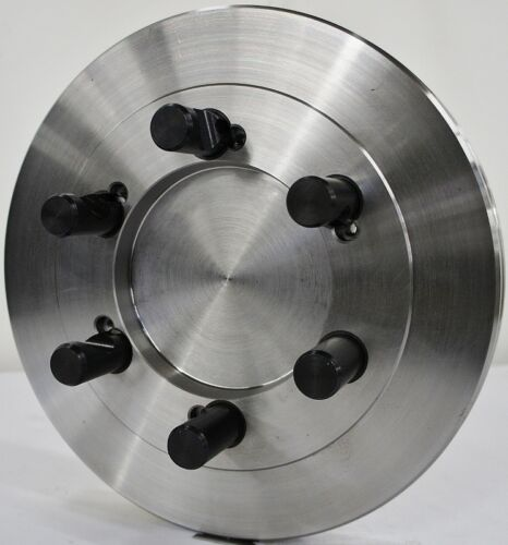 """12-1//2"""" Lathe Chuck Adapter Plate D1-8 Spindle Mount Taper 1-5//16"""" Thickness USA"""