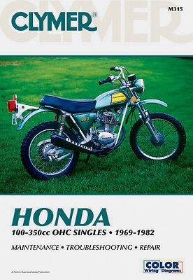 Clymer Repair Service Shop Manual Vintage Honda CB/CL/CT/SL/TL/XL
