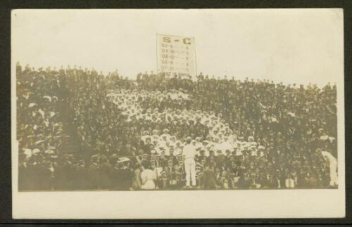 "1908 Cal vs Stanford ""Big Game"" Real Photo Post Card"