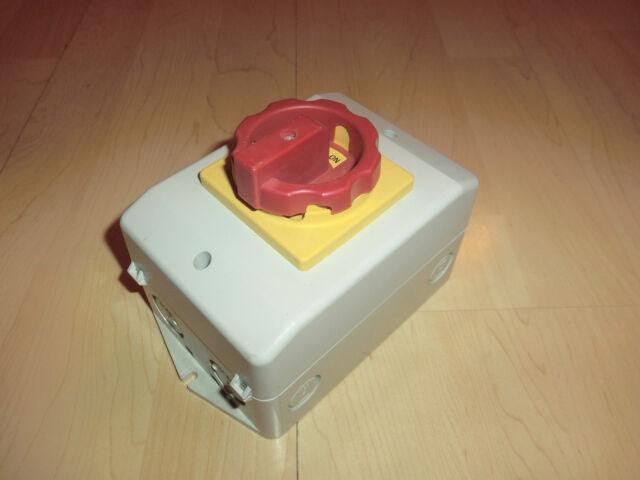 Sontheimer RLT25 / 3PM-D1 / Z33 / GB / HV11 Hauptschalter, NEU