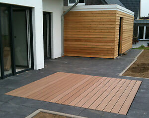 Musterset Wpc Terrassendielen Dielen Diele Deck Terrassen Holz Haus