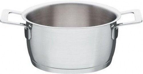 A di Alessi - AJM101 24 - Pots&Pans, Casserole two handles (mirror polished)