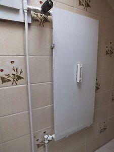 Details Zu Alte Vintage Badezimmer Heizkorper Flach Heizelement Heizen Wc Kucke Zimmer Weiss