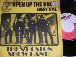 7-034-Boston-Show-Band-Open-up-the-Door-amp-Every-Time-1966-Cornet-3306