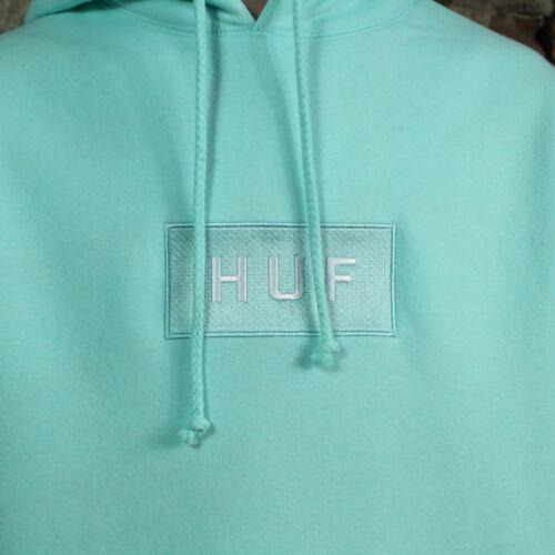in Huf maat Logo m S met met Sweatshirt l sweatshirt Celadon Bar capuchon capuchon fwnqTz16fx