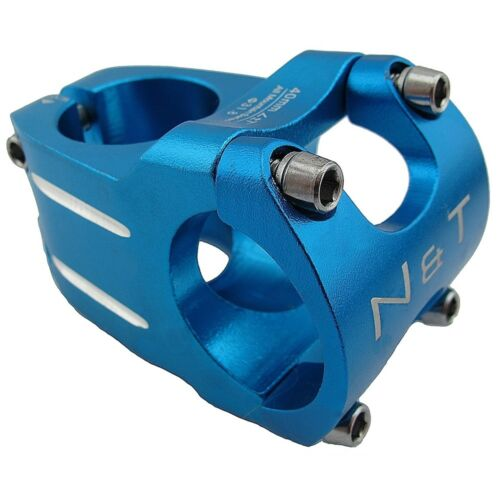 "Bicycle 40mm Short Stem 28.6mm or 1-1//8/"" to 31.8mm Race Road Handlebar MTB BLUE"