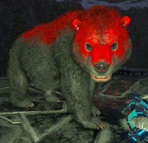 Ark Survival Evolved Xbox One PvE Bear | Unleveled Mutated Direbear 200+