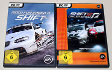 NEED FOR SPEED - SHIFT & SHIFT 2 UNLEASHED - 2 PC SPIELE BUNDLE