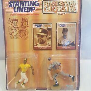 New 1989 Kenner MLB Starting Lineup Reggie Jackson Don Drysdale Baseball Greats