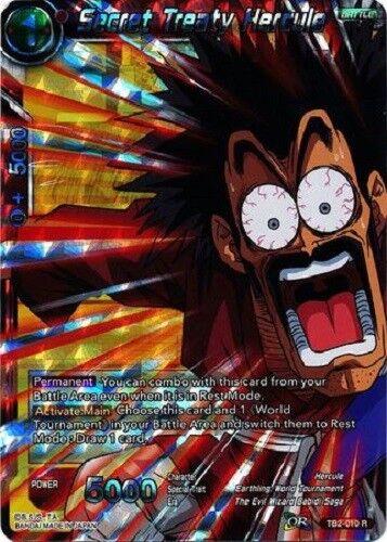 Dragon Ball Super TCG Secret Treaty Hercule TB2-010 Rare