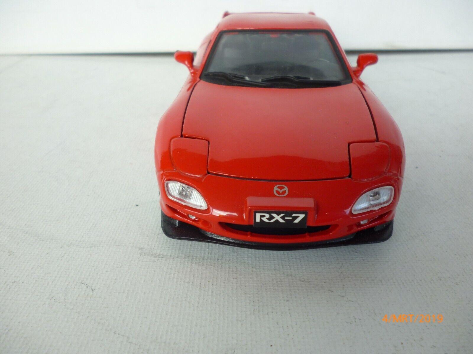 con 60% de descuento MOTOR MAX 73261 VINTAGE VINTAGE VINTAGE IN rojo  MAZDA RX-7 - rojo 1 24  VN MINT  venta con descuento