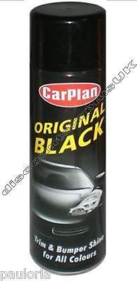 CARPLAN ORIGINAL BLACK - Trim & Bumper Shine for all colors - 500ml Can