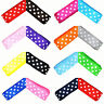 "10mm (3/8"") Width Polka Dot Grosgrain Ribbon for Craft Dummy Clip Bow Making"