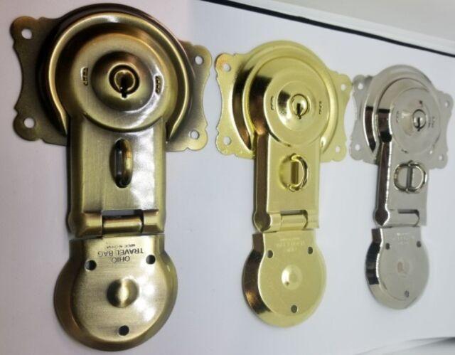 Trunk Lock Key -T-46k T46 3815 3835 trunk chest steamer vintage antique SALE!