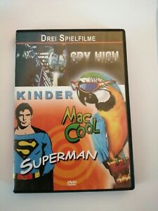 Tre fiction per bambini su DVD: spyhigh, Mac Cool, Superman molto ben #606