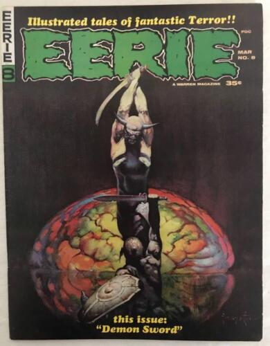 Eerie Magazine 8 Warren 1966 VF Frank Frazetta Steve Ditko