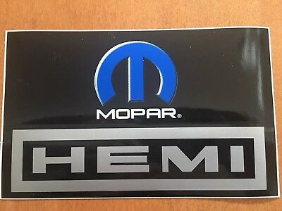 DODGE RAM LOGO with HEMI Vinyl Decal Stickers JDM Mopar Rear Window Truck Decal