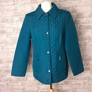 Details about M&S Ladies Grey Wool Blend Coat Jacket Zip Pockets Winter Work Smart 16 Petite