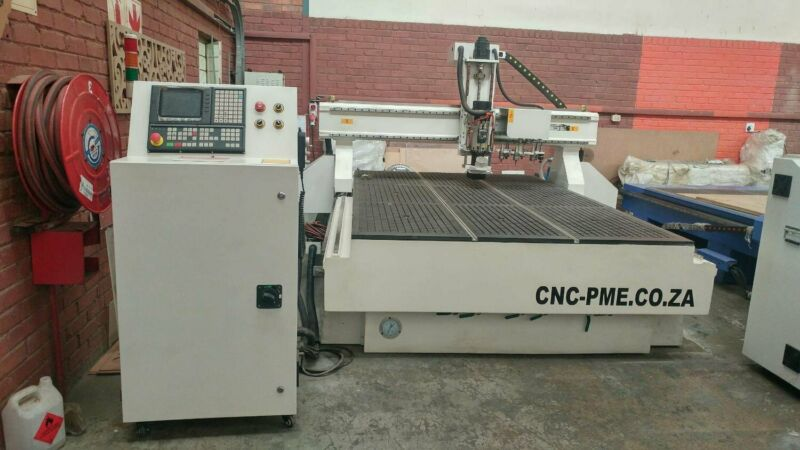CNC ROUTER FOR HIGH VOLUME PRODUCTION - Cost and labour effective - 8 Bit Auto Tool changer