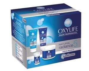 how to use oxylife cream bleach