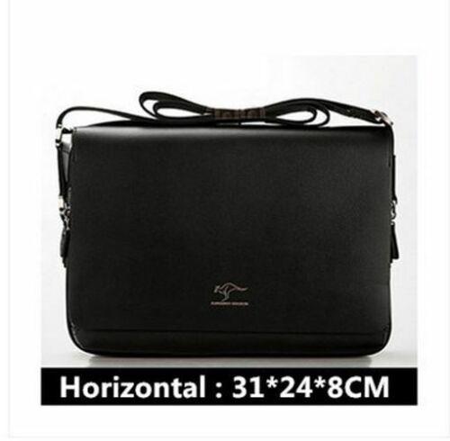 Bag Shoulder Vintage Leather Men Messenger Satchel Handbag School Briefcase New
