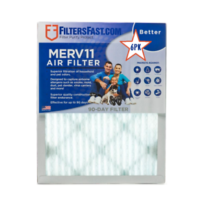 1-034-Home-Air-Filters-Merv-11-Case-of-6-Filters-20x25x1