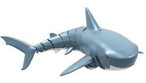RC Ferngesteuerter Hai Sharky der blaube Hai 4 Kanal 2,4 GHz 34cm NEU