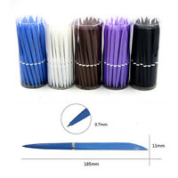 40 Pcs Of Bulk Style Rolling Ball Ballpoint Pens Extra Fine Point Blue Ink