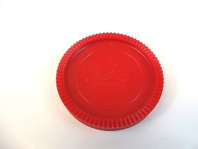 Parts Crown Cracker Barrel TWO Extra Large Replacement Checker Pieces 2 RED