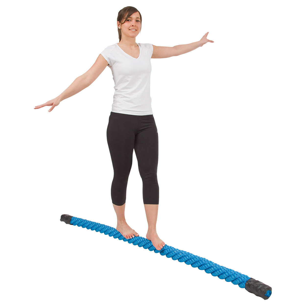 Balanciertau aus Kunststoff, Kunststoff, Kunststoff, Balancetrainer, Balancier Trainer, 200 cm e3bce1