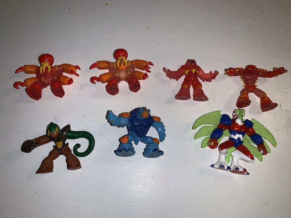 Figurer, Plastikfigurer, Gormiti