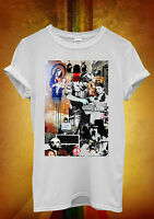 Banksy Street Art Graffiti Cool Funny Men Women Unisex T Shirt Tank Top Vest 617