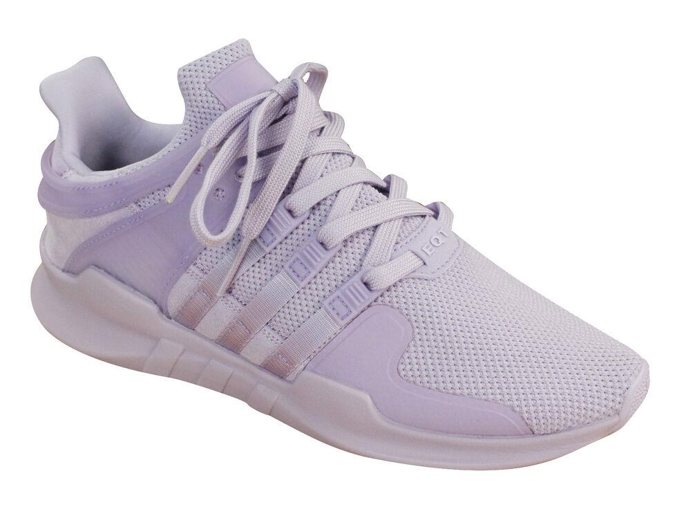 Adidas Baskets Originals Equipment Support ADV Femme Baskets Adidas Violet Textile BY9109 P5- da57d4